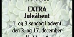 Jul, julebutik, juleudstilling, jule, udstilling, åbner, Henrys, vinduer, Henrys by Rebekka, Jelling, Advent
